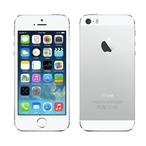 iphone 9 verizon apple iphone 5s 16gb no contract smartphone for verizon silver me342ll 885909727810 ebay