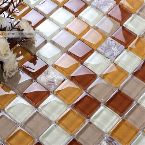popular crackle glass tile backsplash buy cheap crackle