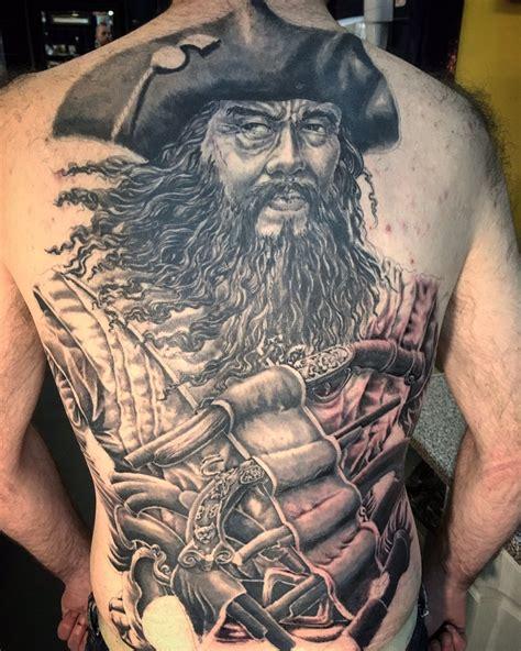 blackbeard tattoo ben boston inkbyboston
