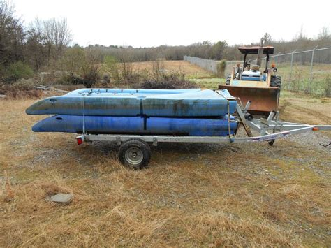 used boat trailers eastern nc used seadoo loadrite jet ski trailer w two blue