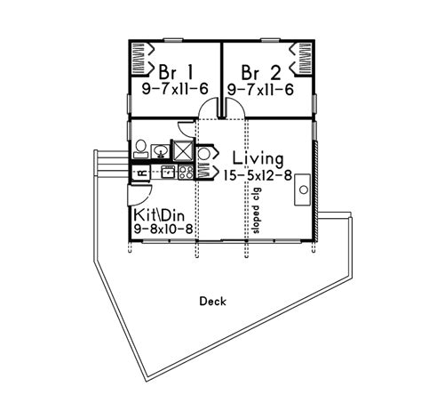 beaverhill raised vacation home plan 008d 0133 house
