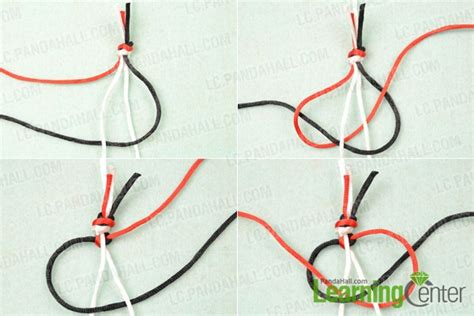 How To Make Square Knots - macrame square knot images
