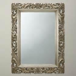 buy john lewis ornate leaf wall mirror champagne 122 x