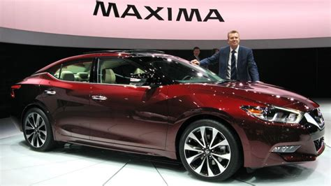 nissan infiniti 2016 the 2016 nissan maxima unveiled in york along with