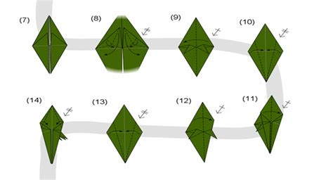 Cara Mudah Membuat Origami Naga | cara membuat origami naga alina daya nurul ashifa