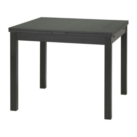 ikea black kitchen table bjursta extendable table ikea