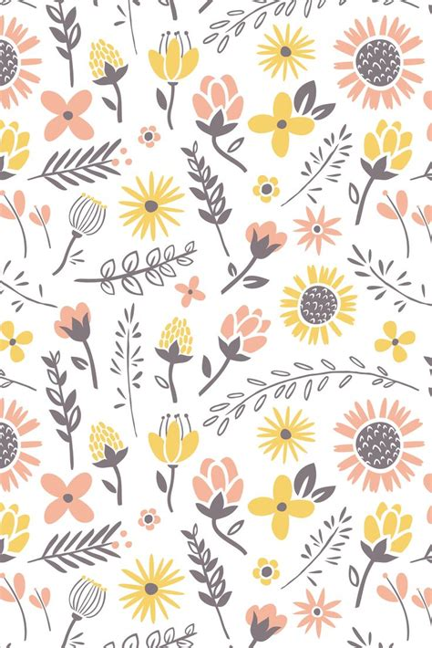 iphone 5 wallpaper pattern yellow iphone pinterest pastel flowers iphone wallpaper iphone wallpapers more