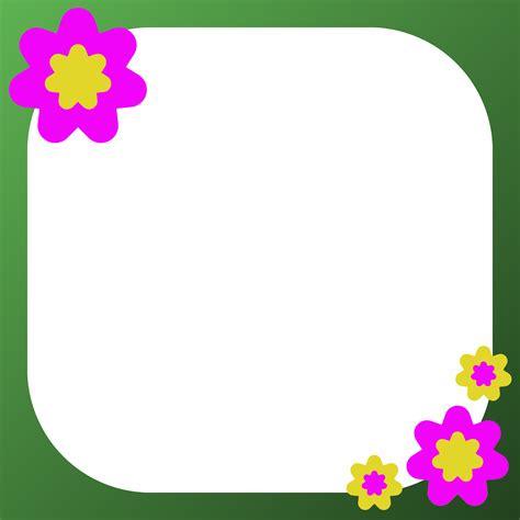 cornici clip clip frames flowers clipart best