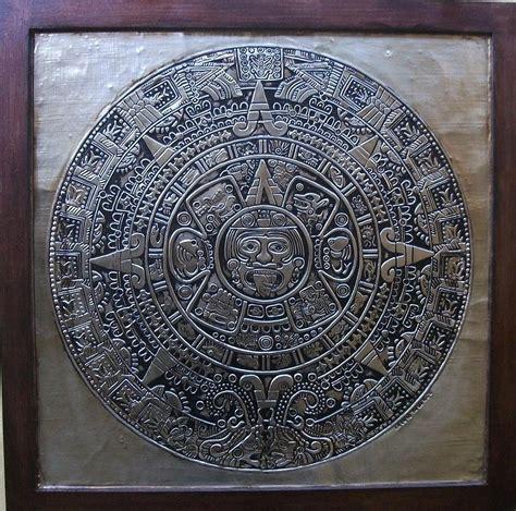 Calendario Azteca For Sale Aztec Calendar Relief By Cacaio Tavares