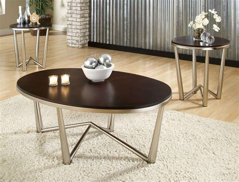 brushed nickel desk l brushed nickel coffee legs roy home design
