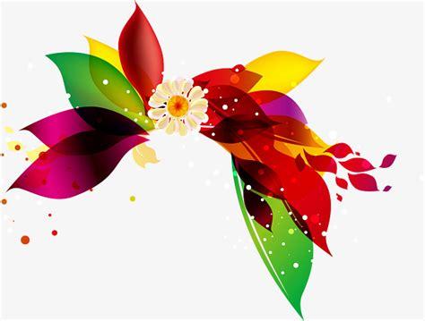 colorful floral design background illustrator vector colorful floral design decorative background vector