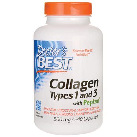 Top Collagen doctor s best best collagen types 1 3 500 mg 240 caps swanson health products