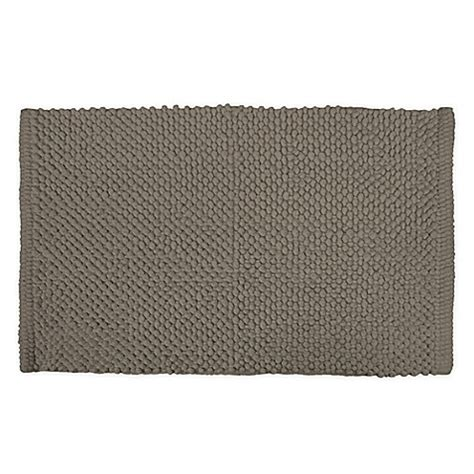 24 inch rug buy design imports 17 inch x 24 inch popcorn bath rug in brown from bed bath beyond