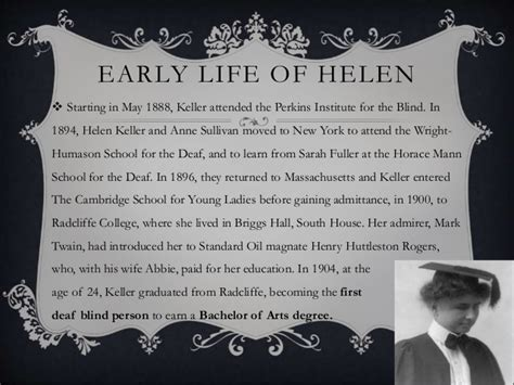 helen keller biography early life helen keller quot the story of my life quot