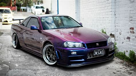 purple nissan purple nissan skyline gt r wallpapers and images