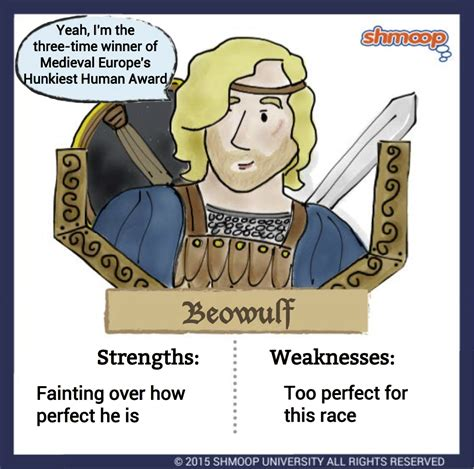 beowulf themes and quotes beowulf in beowulf