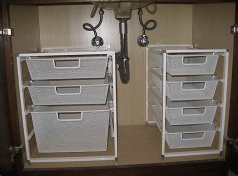 under sink storage ideas bathroom under sink storage super smart ways to organize the space