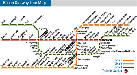 busan city map korea map seoul korean maps subway cities provinces
