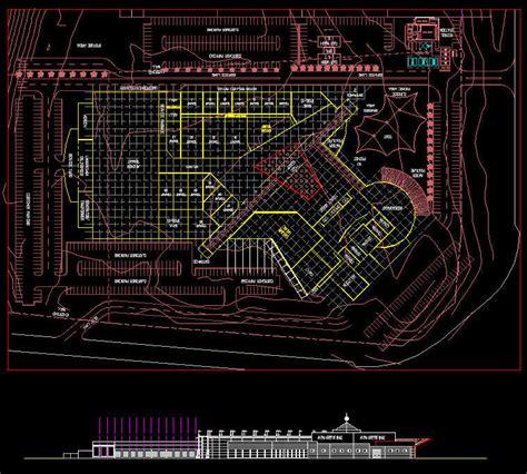 Cad Building Template Shopping Centre Design 5 20000 Gla