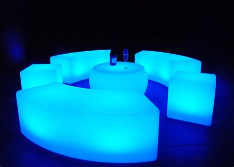 led furniture goglow party hire illuminated event hire sunshine coast