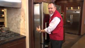 Ge Cafe French Door Refrigerator Counter Depth - ge cafe counter depth french door refrigerator at caplan s appliances youtube