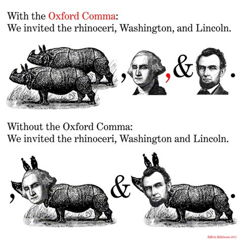 Oxford Comma Meme - oxford comma know your meme