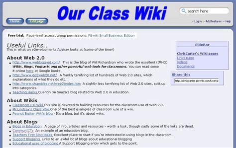 how to create a wiki template hgfl ict technologies web 2 0 wikis