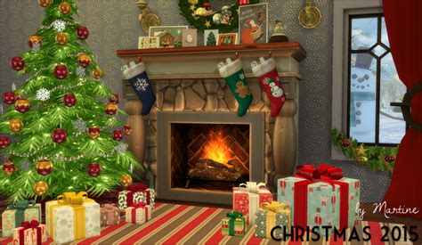 christmas decoration set by martine teh sims