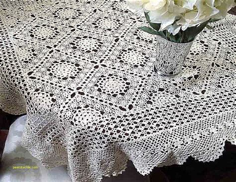 pattern tablecloths tablecloths unique free thread crochet tablecloth