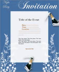 template for invitation letter for an event 9 event invitations psd vector eps pdf