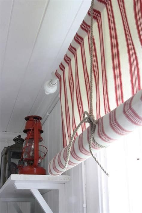 diy roll up curtains diy rope as window shade tie by