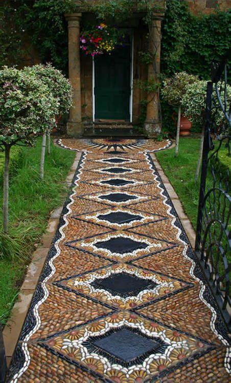 beautiful walkway gardening pinterest gardens