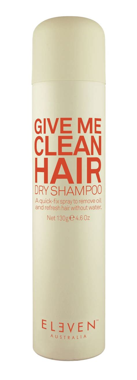 a quick fix for oily hair dry clean it one good thing give me clean hair dry shampoo a quick fix spray to remove