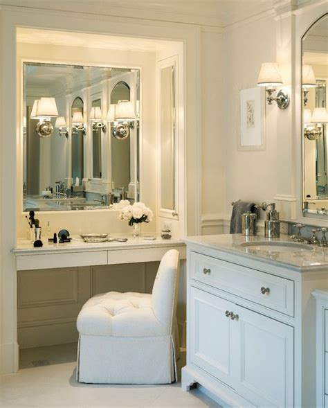 bathroom vanity mirrors ideas best 25 bathroom makeup vanities ideas on