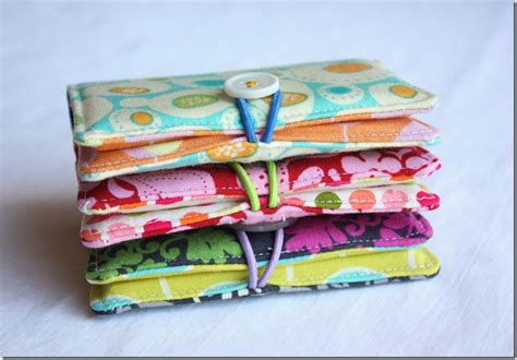 Handmade Sewn Gifts - business cards diy or don t dans le lakehouse
