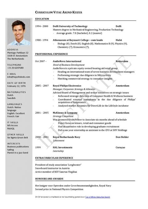 best of german cv template doc livoniatowingco best of cv german