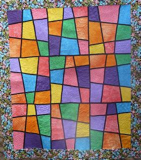 stitchingmatters stack n whack quilt