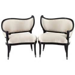 Antique Accent Chair Pair Of Antique Black Lacquer Regency Accent Chairs At 1stdibs
