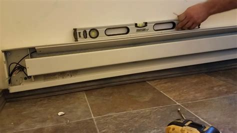 electric baseboard heater not working installing electric baseboard heater diy