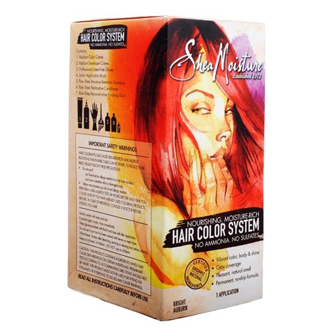 shea moisture hair color system shea moisture hair color system bright auburn olori