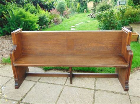 bench pew victorian oak pew bench hall seat antiques atlas