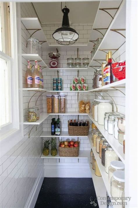 small design small walk in pantry designs