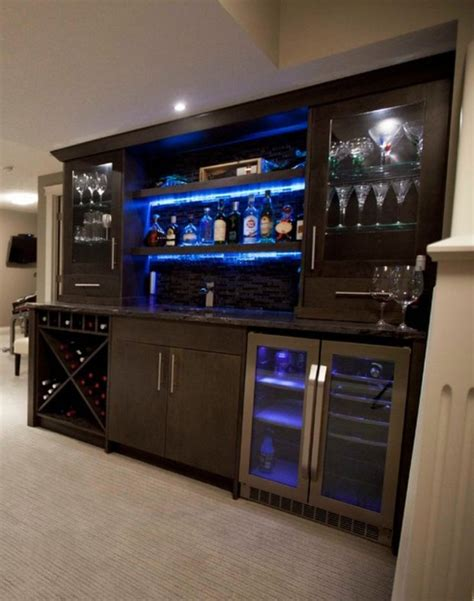 Basement Bar Cabinet Ideas Bar Cabinets I Saw On Houzz Bar Lighting The And Glasses