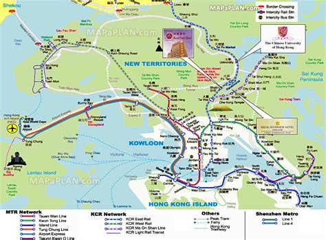 tourist map printable maps update 21051488 hong kong tourist attractions map