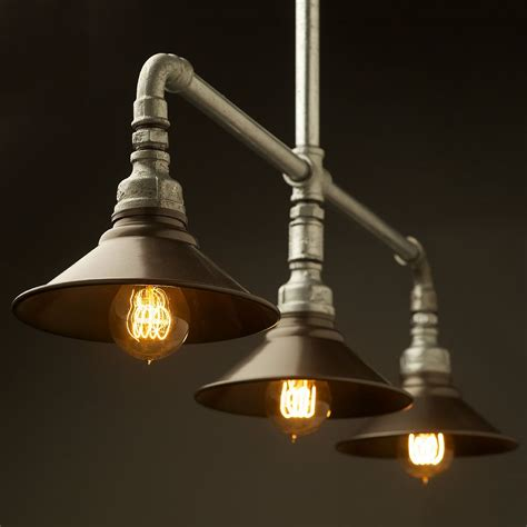 kitchen light fittings plumbing pipe lights wall and pendant lighting pinte