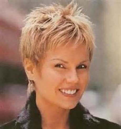 spikey hairdos for older women spiky short haircuts