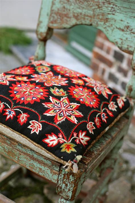 Broderie Tapisserie by Broderie En Scandinave Coussin Embroidery L