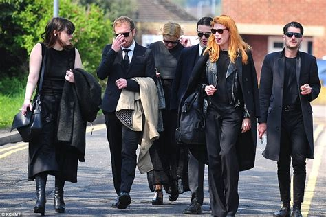 geldof s coffin arrives at church as mourners
