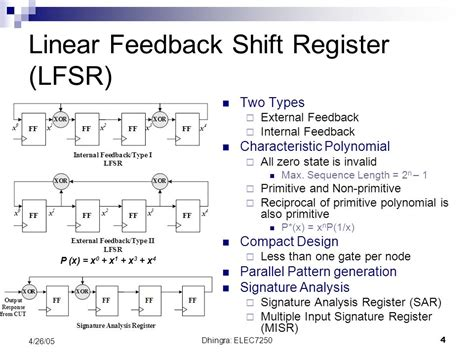 test pattern generation using lfsr comparison of lfsr and ca for bist ppt video online download