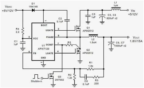 motherboard power supply diagram asus p5ql motherboard bridge power supply schematic